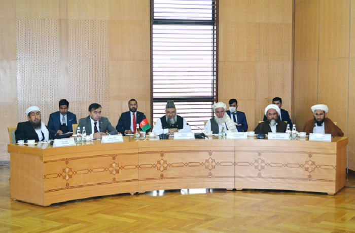 Afghan delegation headed by the Minister of Hajj and Religious Affairs has arrived to Ashgabat